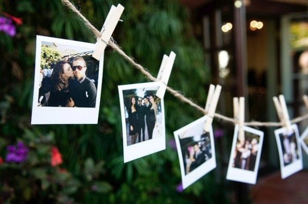 Your entire life is nothing more than a string with some Polaroids hanging from it.