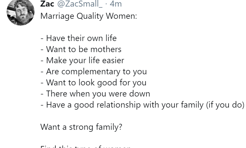 Vetting Women For Marriage