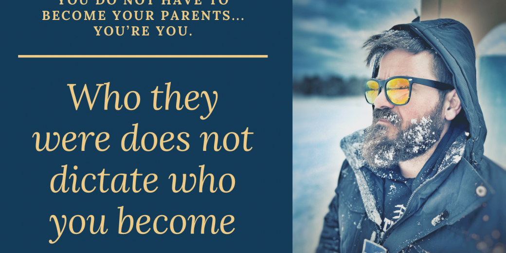 How to be a better parent than your parents were.